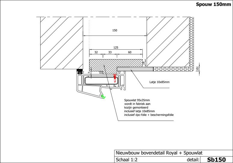 Spiksplinternieuw Technische informatie - SK Geveltechniek JH-92